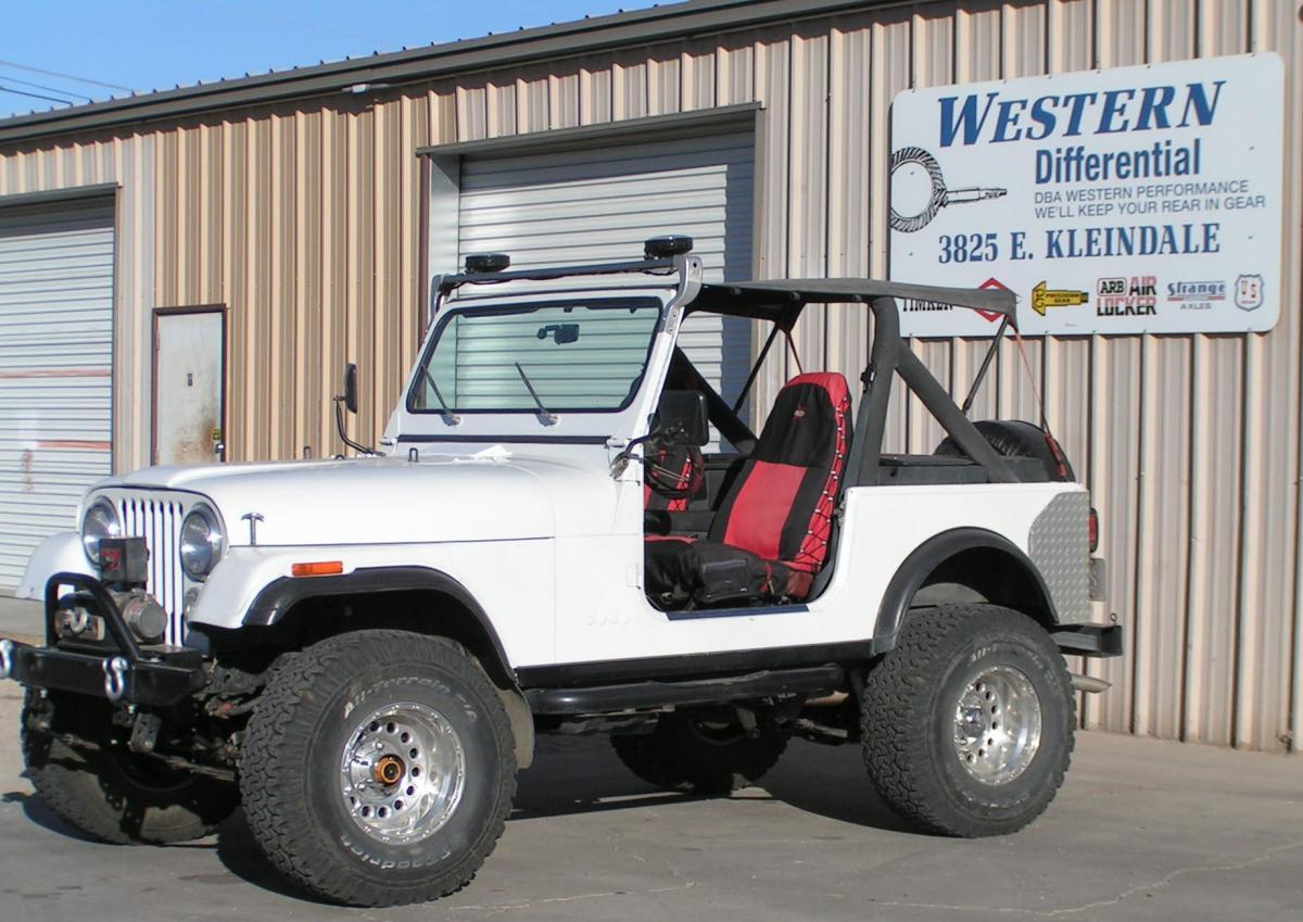 "Custom Ford 9"" Rear | Western Differential & Driveline"